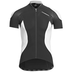 Orbea Pro SSN Cycling Jersey - UPF 50+, Short Sleeve (For Men) in Black