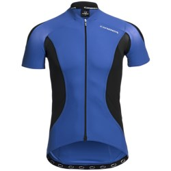 Orbea Pro SSN Cycling Jersey - UPF 50+, Short Sleeve (For Men) in Blue