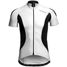 Orbea Pro SSN Cycling Jersey - UPF 50+, Short Sleeve (For Men) in White - Closeouts