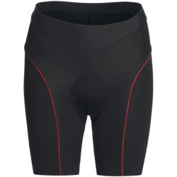 Orbea Race Series Cycling Shorts (For Women) in Black/Red