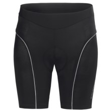 Orbea Series Cycling Shorts (For Women) in Black/White - Closeouts