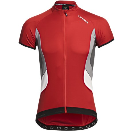 Orbea X-Series Cycling Jersey - Short Sleeve (For Men) in Red