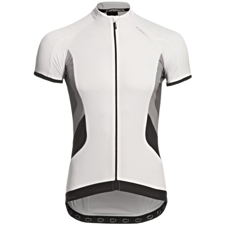 Orbea X-Series Cycling Jersey - Short Sleeve (For Men) in White