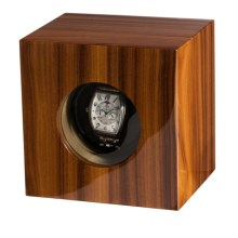 Orbita Casetta Single Watch Winder in Brazil Rosewood - Closeouts
