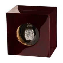 Orbita Casetta Single Watch Winder in Mahogany - Closeouts