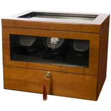 Orbita Monaco 3 Programmable Watch Winder in Teak - Closeouts