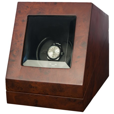 Orbita Prestige Sparta Single Watch Winder in Matte Burl