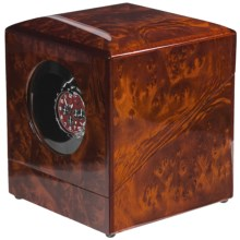 Orbita Privee Rotorwind Watch Winder - One Lithium in Burl Elm - Closeouts