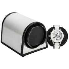 Orbita Sparta 1 Mini Watch Winder - Rotorwind in White Leather - Overstock
