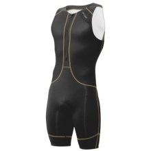Orca 226 Kompress Tri Race Suit - UPF 50+ (For Men) in Black/White - Closeouts