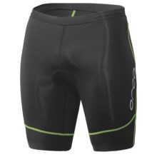 Orca 226 Kompress Tri Shorts (For Men) in Black/Moto Green - Closeouts