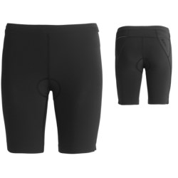 Orca 226 Lite Tri Shorts - UPF 50+, Built-In Chamois (For Women) in Black/Bachelor Button