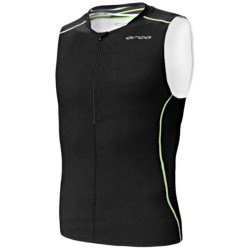Orca 226 Tri Tank Top (For Men) in White/Black