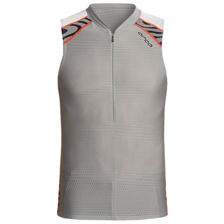 Orca 226 Tri Tank Top (For Men) in Black/Silver
