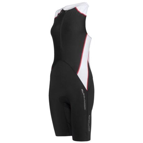 Orca 226 Triathlon Race Suit - Sleeveless (For Women) in Black/White
