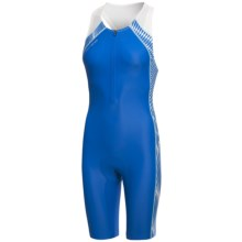 Orca 226 Triathlon Race Suit - Sleeveless (For Women) in Blue/White - Closeouts