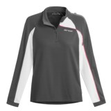 Orca Active Fleece Shirt - Quarter-Zip Neck, Long Sleeve (For Women)