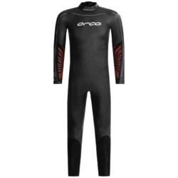 Orca Apex 2 Triathlon Wetsuit - Full Sleeve (For Men) in Black