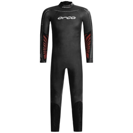 Orca Apex 2 Triathlon Wetsuit - Full Sleeve (For Men) in Black