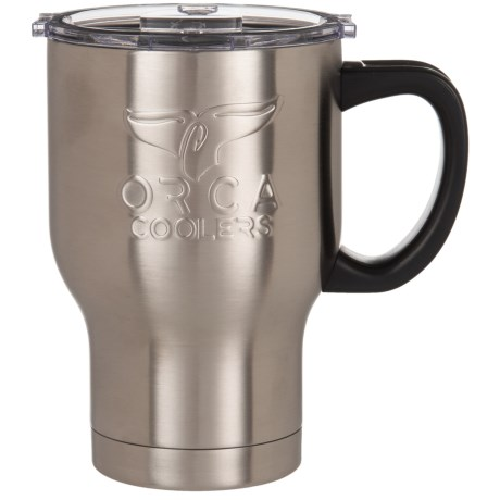 Orca Chaser Cafe Stainless Steel Mug - 20 oz. in Stainless