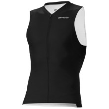 Orca Core Basic Tri Tank Top (For Men) in Black/White - Closeouts