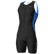 Orca Core Race Tri Suit (For Men) in Black/Coral Blue - Closeouts