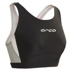Orca Core Sports Bra (For Women) in Black/Silver