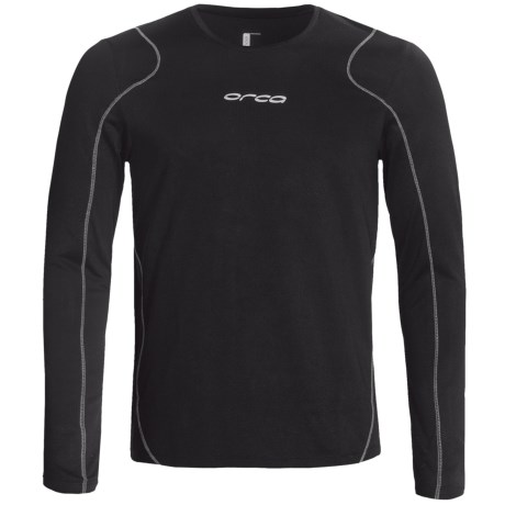 Orca Core Top - Long Sleeve (For Men) in Black