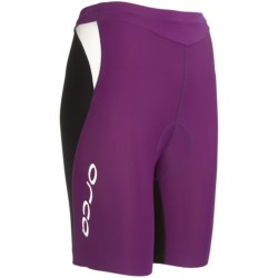 Orca Core Tri Shorts (For Women) in Black/Rasberry Sorbet