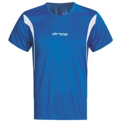 Orca Core Tri T-Shirt - Short Sleeve (For Men) in Whisper White/ Silver