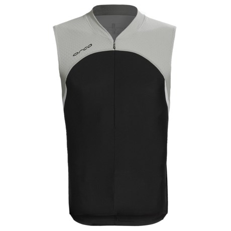 Orca Core Tri Tank Top (For Men) in Black/Silver