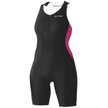 Orca Core Triathlon Race Suit - Sleeveless (For Women) in Black/Fuchia Purple - Closeouts