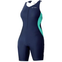 Orca Core Triathlon Race Suit - Sleeveless (For Women) in Majolica Blue/Ceramic - Closeouts