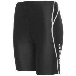 Orca Equip Tri Shorts (For Women) in Black/Red