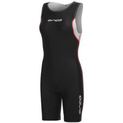 Orca Equip Tri Suit - Sleeveless (For Women) in Black/White