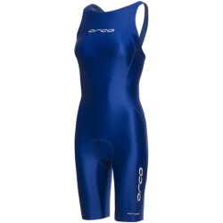 Orca High-Performance Tri Suit - Sleeveless (For Women) in Blue