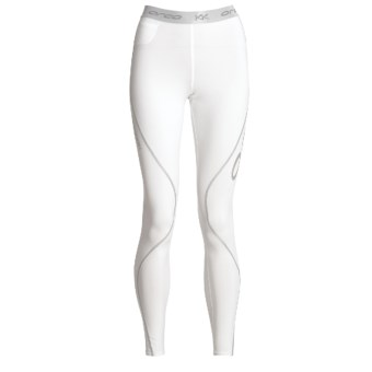 Orca Killa Kompression Core Full Tights - UPF 50+ (For Women) in White