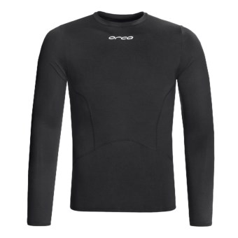 Orca Killa Kompression Core Shirt - UPF 50+, Long Sleeve (For Men) in Black