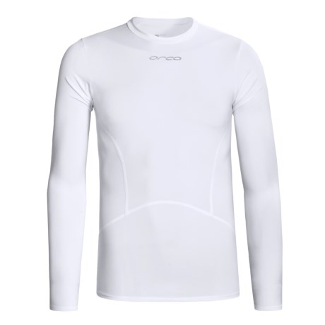 Orca Killa Kompression Core Shirt - UPF 50+, Long Sleeve (For Men) in White