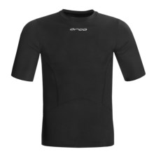 Orca Killa Kompression Core Shirt - UPF 50+, Short Sleeve (For Men) in Black - Closeouts