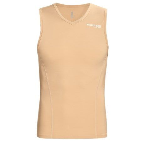 Orca Noexss Compression Tank Top - UPF 50+ (For Men) in Beige