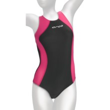 Orca Race Tri Swimsuit (For Women) in Grey/Pink - Closeouts
