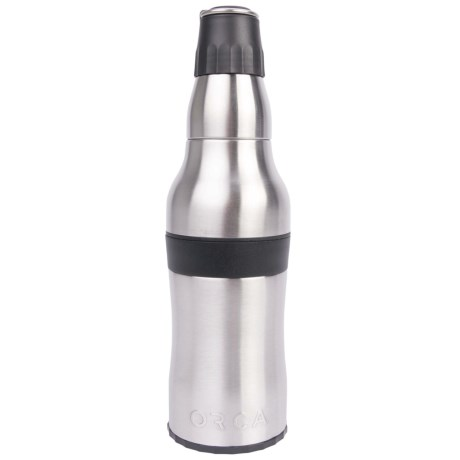 Orca Rocket Bottle - 12 oz. in Stainless