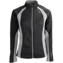 Orca Soft Shell Jacket (For Women) in Black/Grey - Closeouts