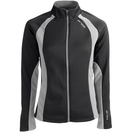 Orca Soft Shell Jacket (For Women) in Black/Grey