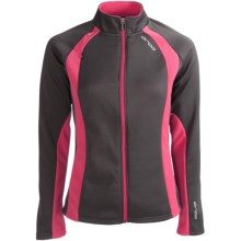 Orca Soft Shell Jacket (For Women) in Grey/Pink - Closeouts