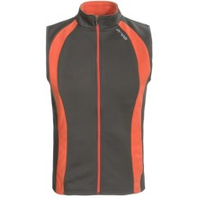 Orca Soft Shell Vest (For Men) in Grey/Orange - Closeouts