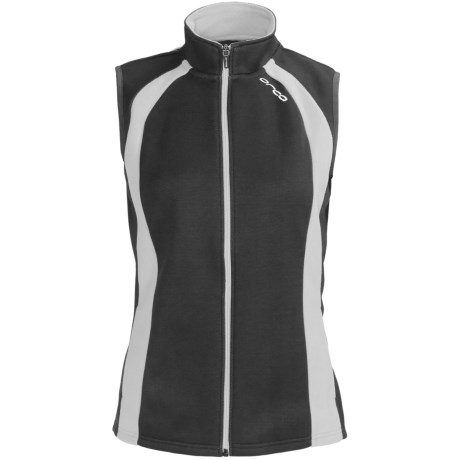 Orca Soft Shell Vest (For Women) in Black/Grey