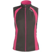 Orca Soft Shell Vest (For Women) in Grey/Pink - Closeouts