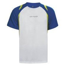 Orca Sportive T-Shirt - Short Sleeve (For Men) in White/Marine - Closeouts